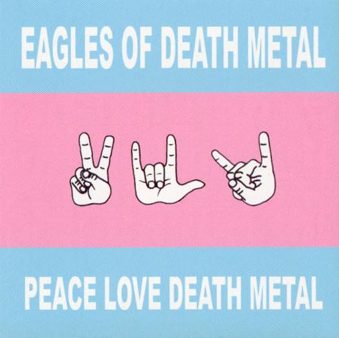 peace love death metal album cover